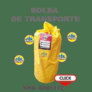 bolsa de transporte para inflables