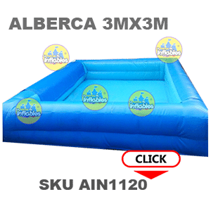 alberca inflable