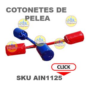 GLADIADORES INFLABLE