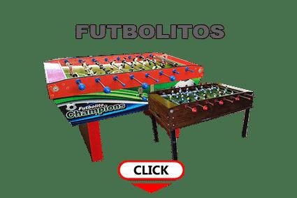 futbolitos de mesa