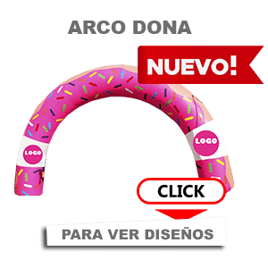 ARCOS INFLABLES ARCO CARAVANA