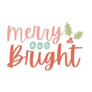 ***NEW*** MERRY & BRIGHT
