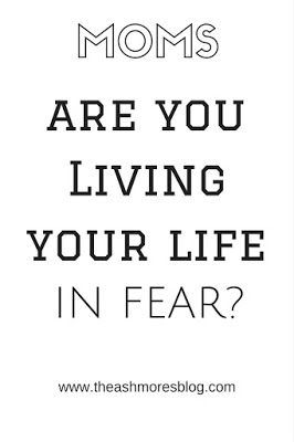 Living your life in fear..