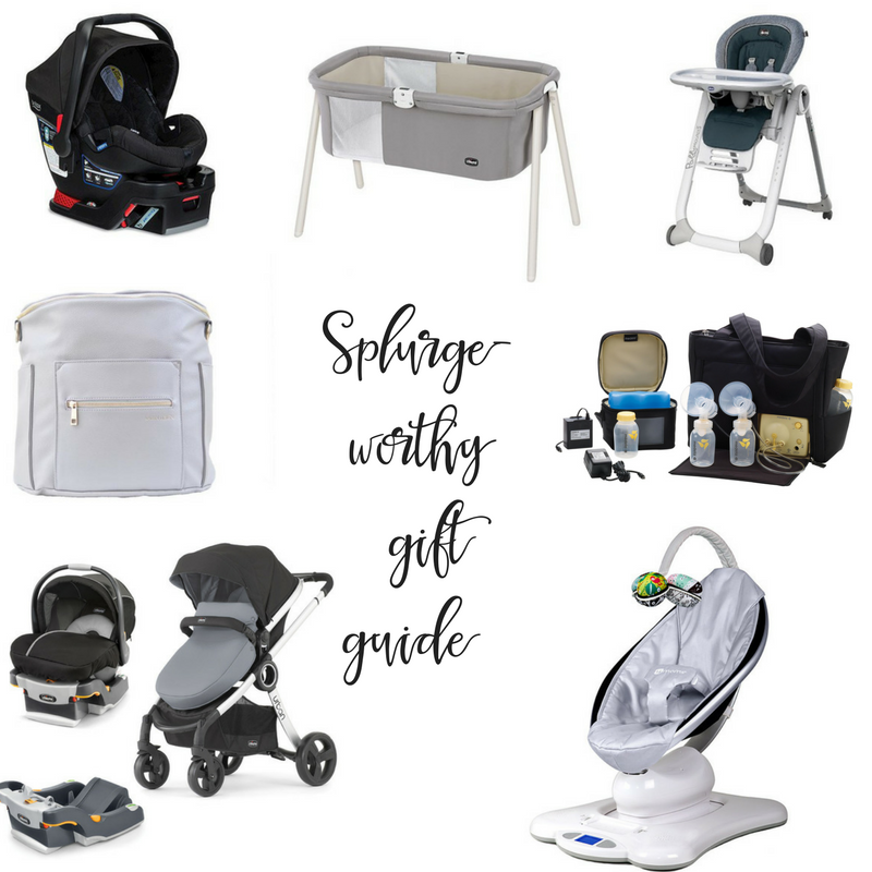 Splurge-Worthy gift guide for the mom to be!