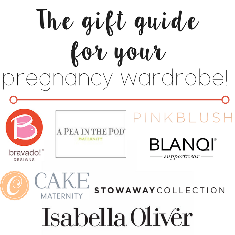 The gift guide for your pregnancy wardrobe!