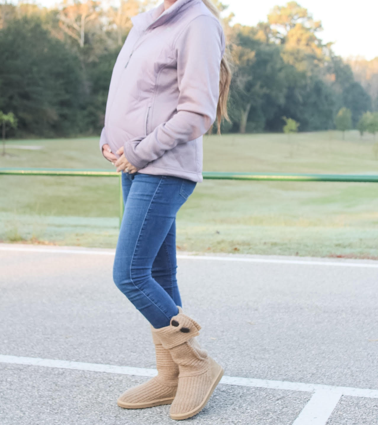 The perfect winter jacket for your growing bump!
