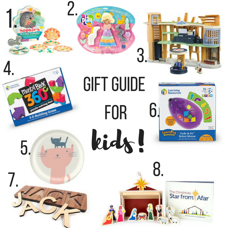 A gift guide for your kids!