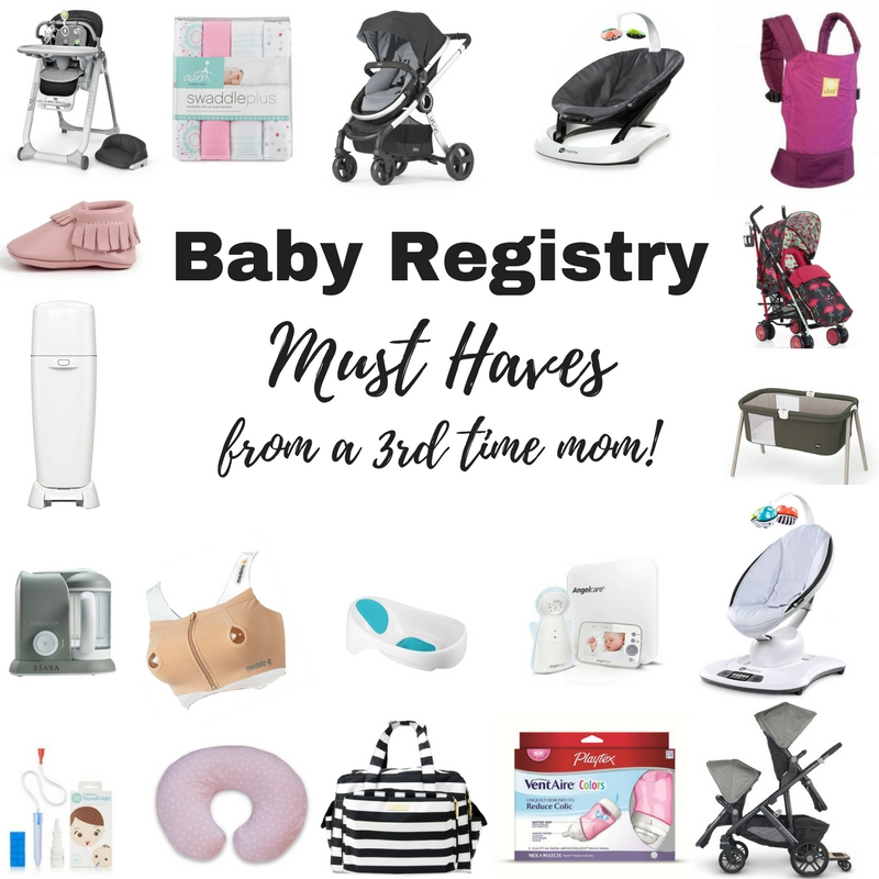 Baby Registry Must Haves!