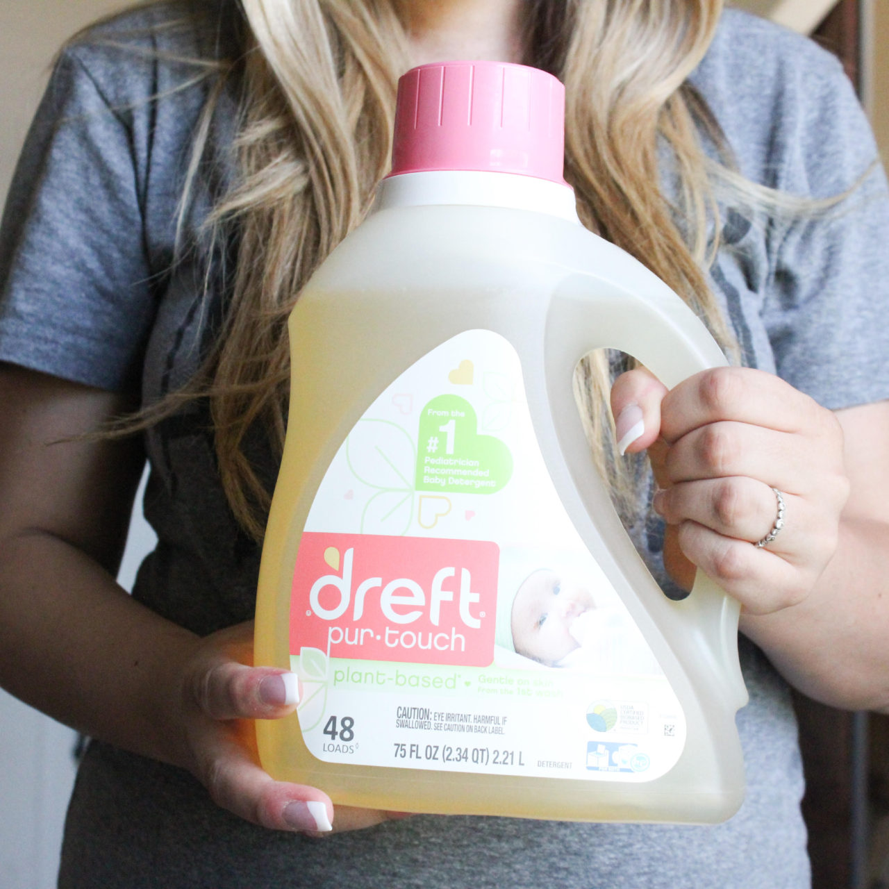 The importance of using a gentle detergent