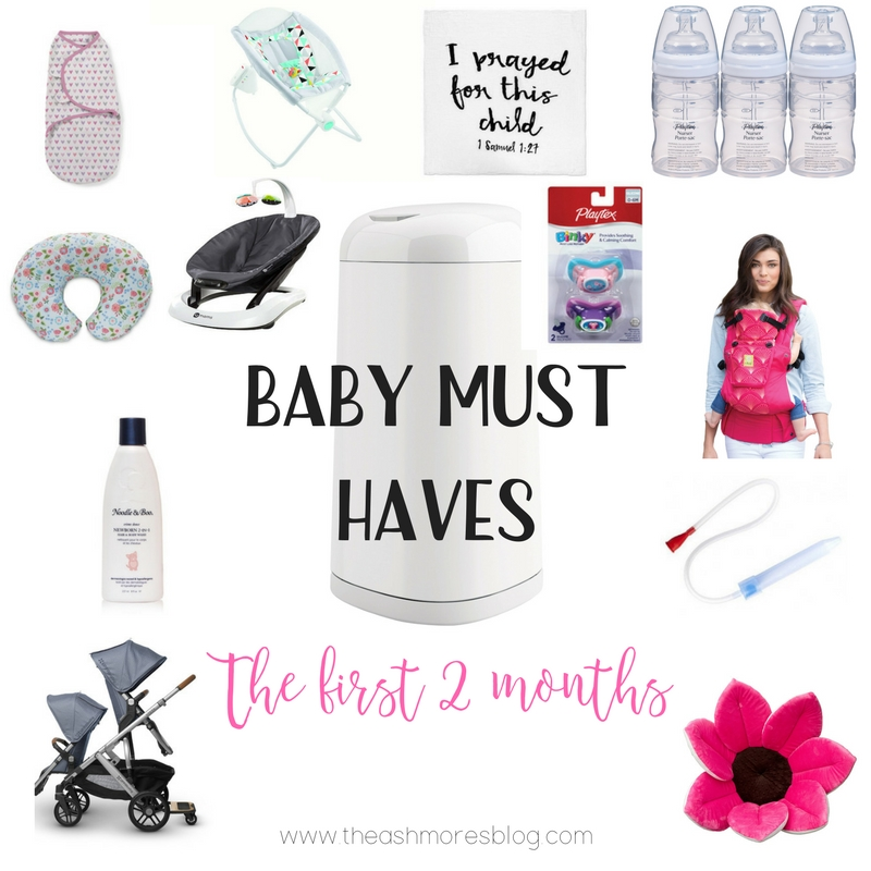 Baby must haves: The first 2 months #ForBetterBeginnings
