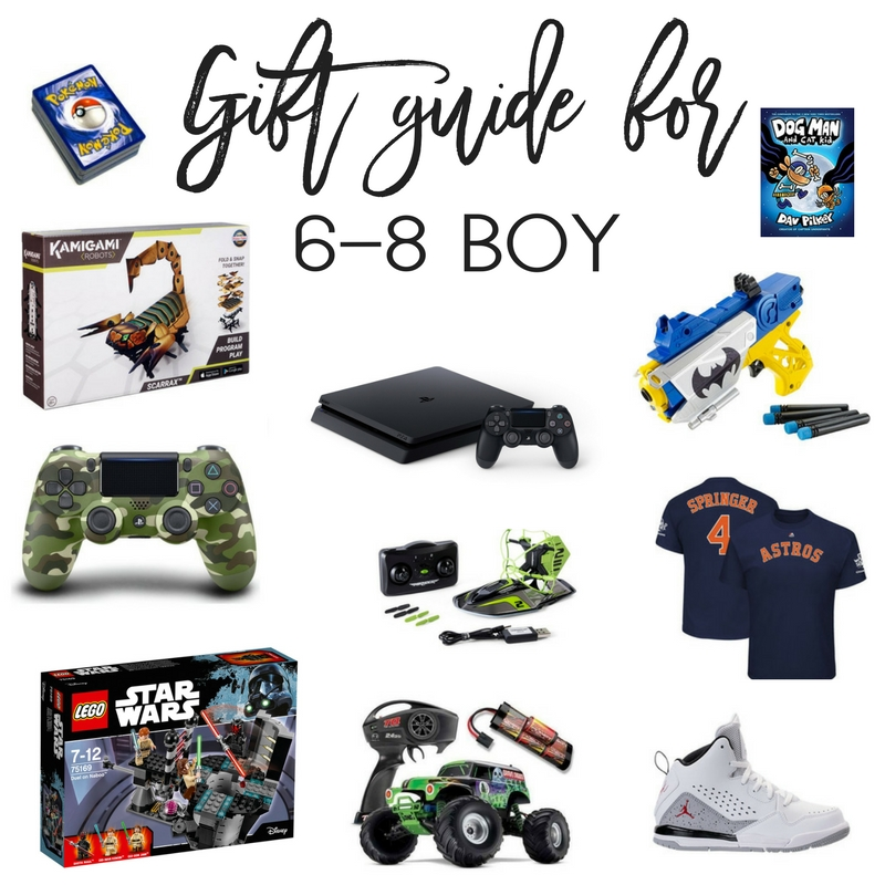Gift Guide for Boy 6-8