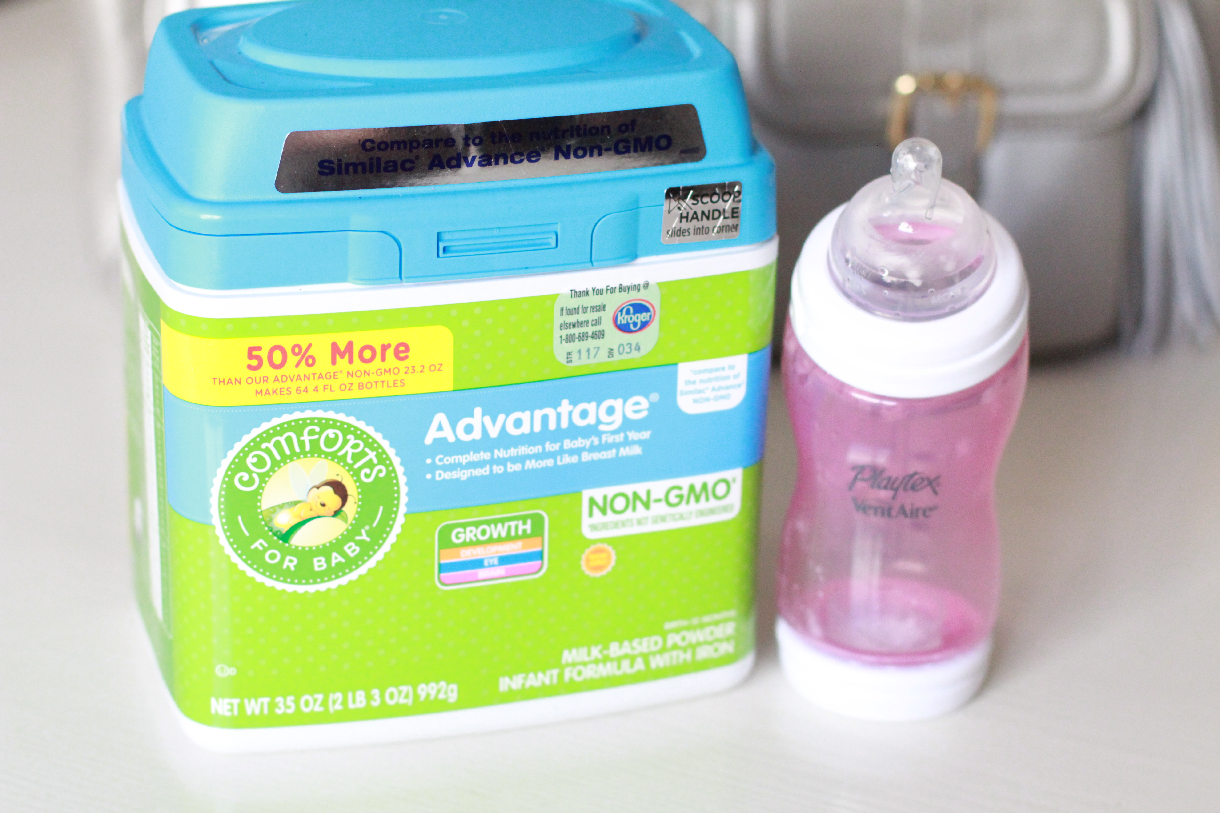 bottle formula feeding