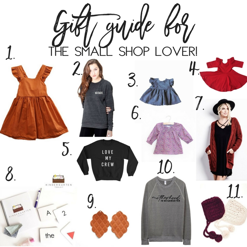 Gift guide for the Small Shop lover
