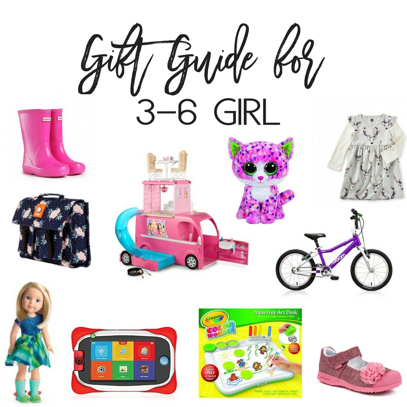 Gift Guide for Girl 3-6