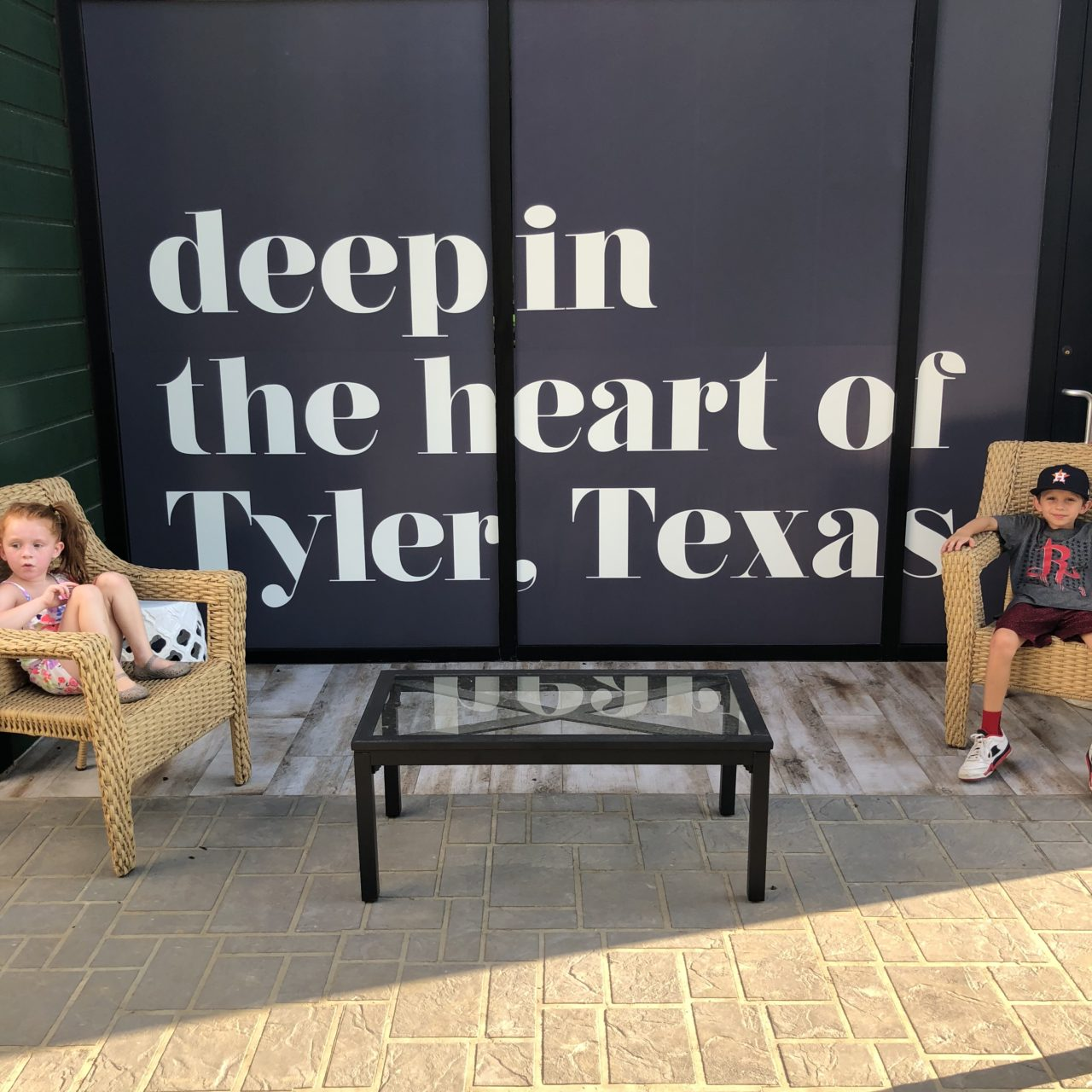 Theashmorestravels to Tyler, Texas!