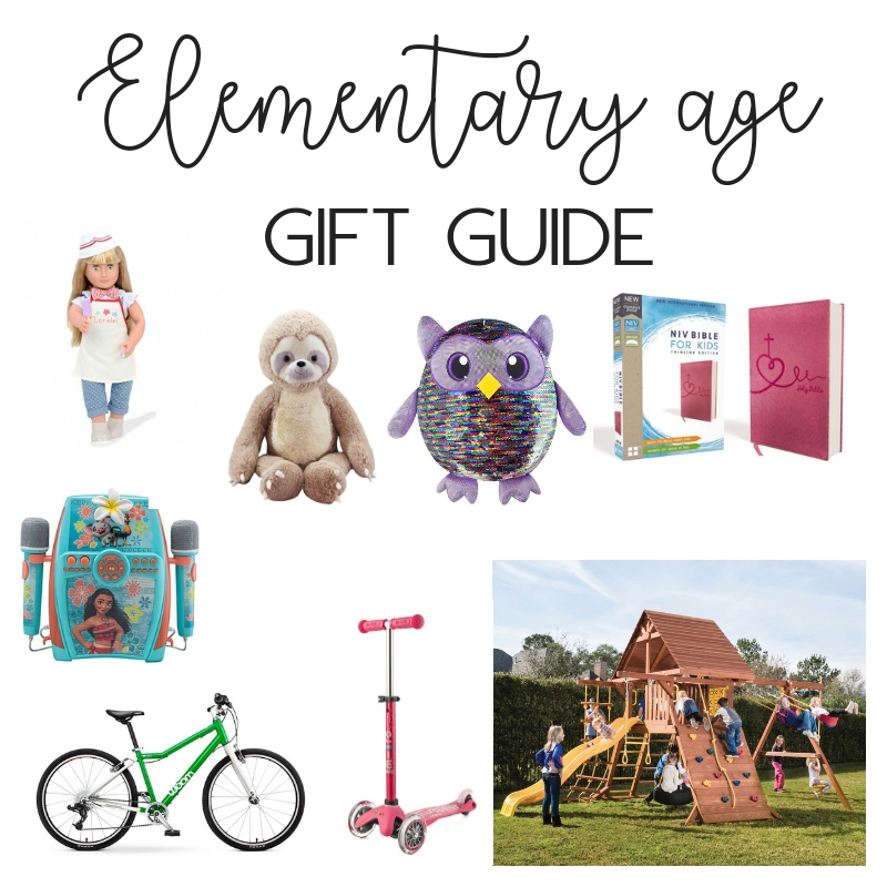 2018 Elementary age gift guide