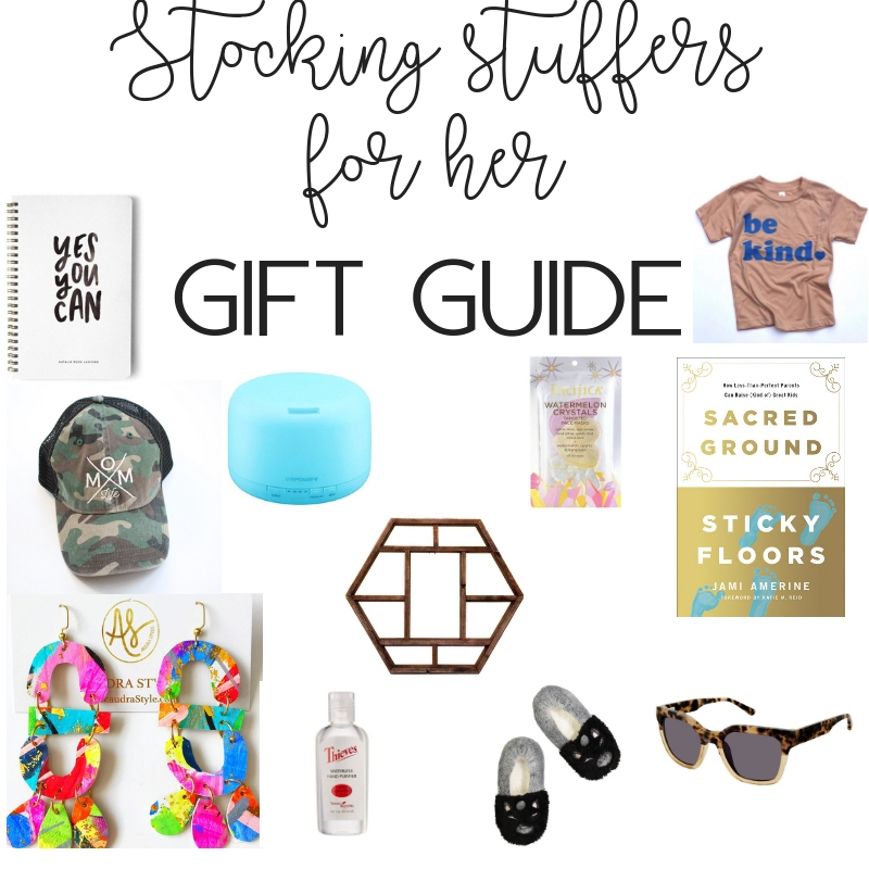 Gift guide: stocking stuffers for her