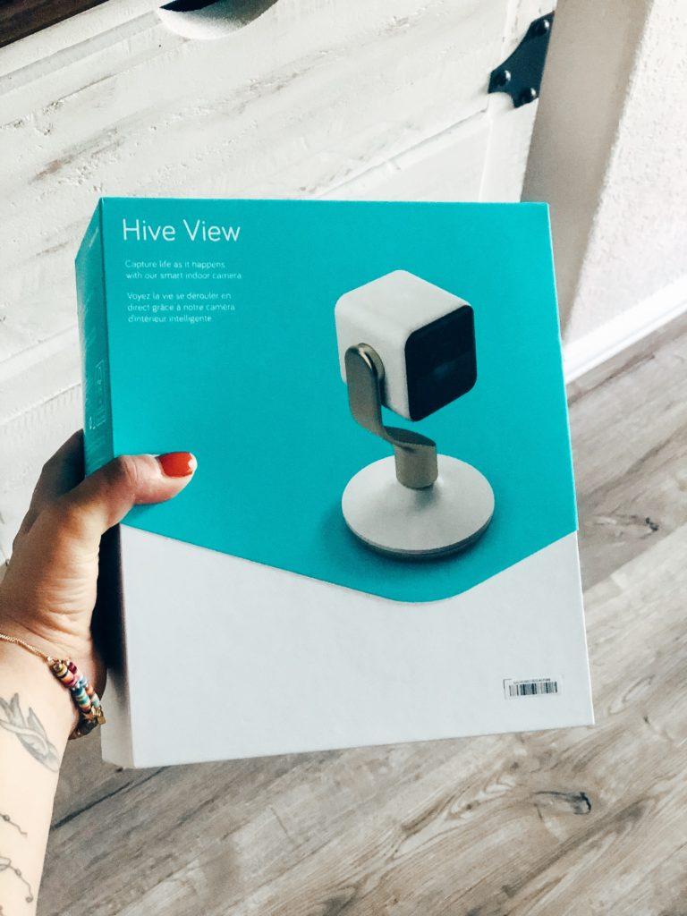 hive indoor camera