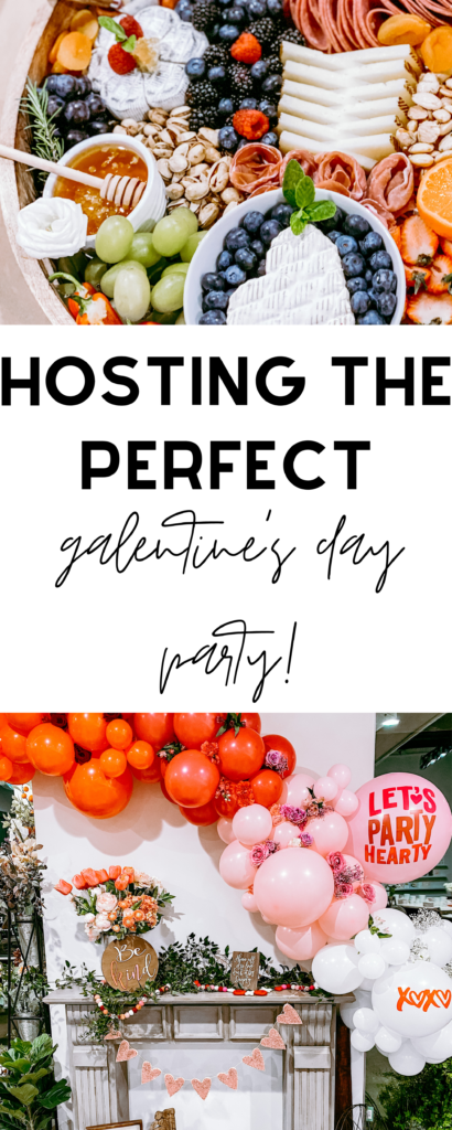 galentines girls night out party valentines day