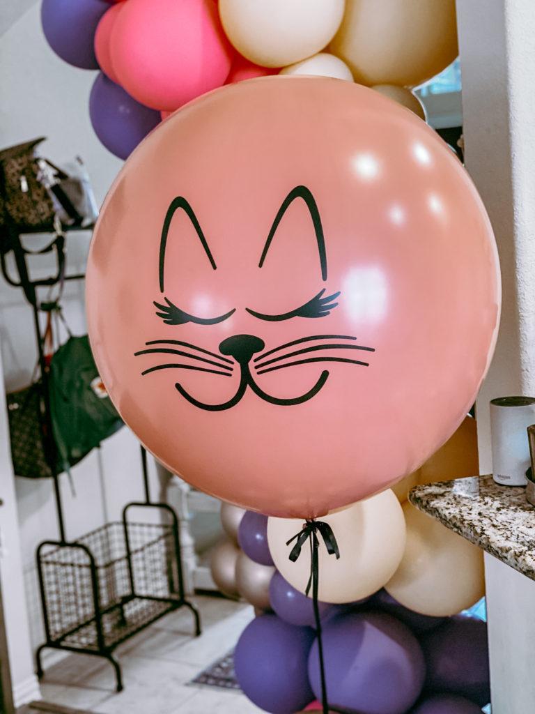 kitty cat birthday party