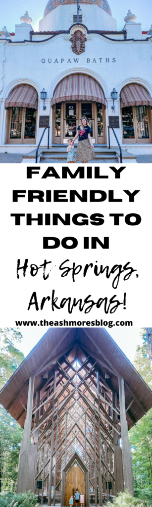 Travel to Hot Springs Arkansas vacation family travel summer road trip