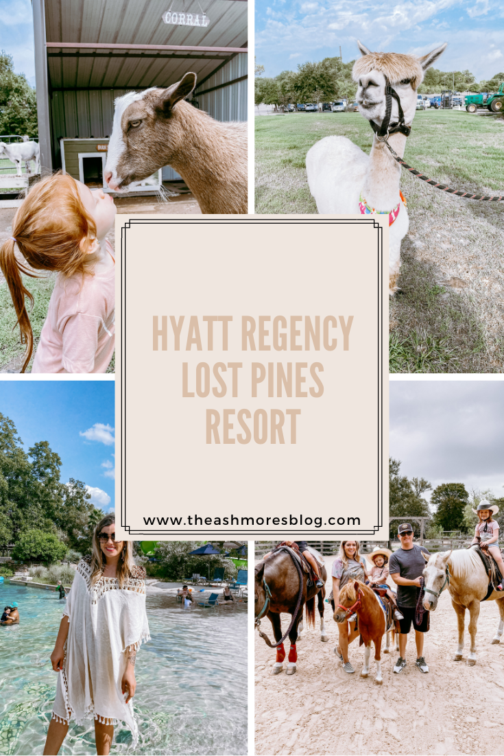 hyatt regency lost pines hill country family travel vacation