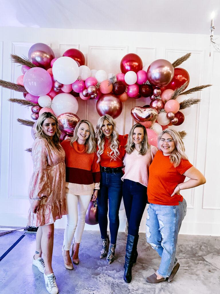 galentines girls valentines party