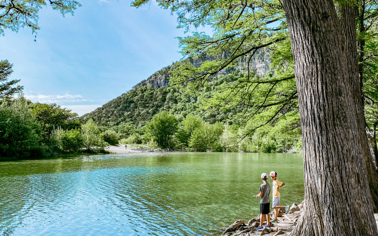 Family friendly things to do in Concan, Texas!