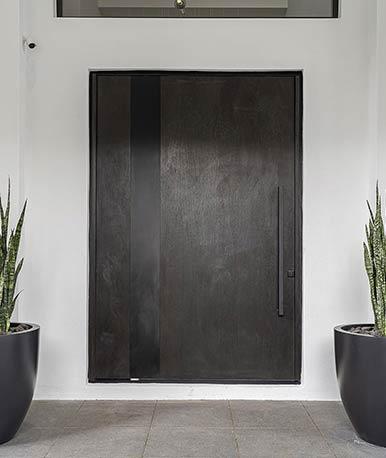 types of wood doors