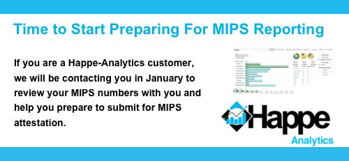 Prepare for MIPS Reporting
