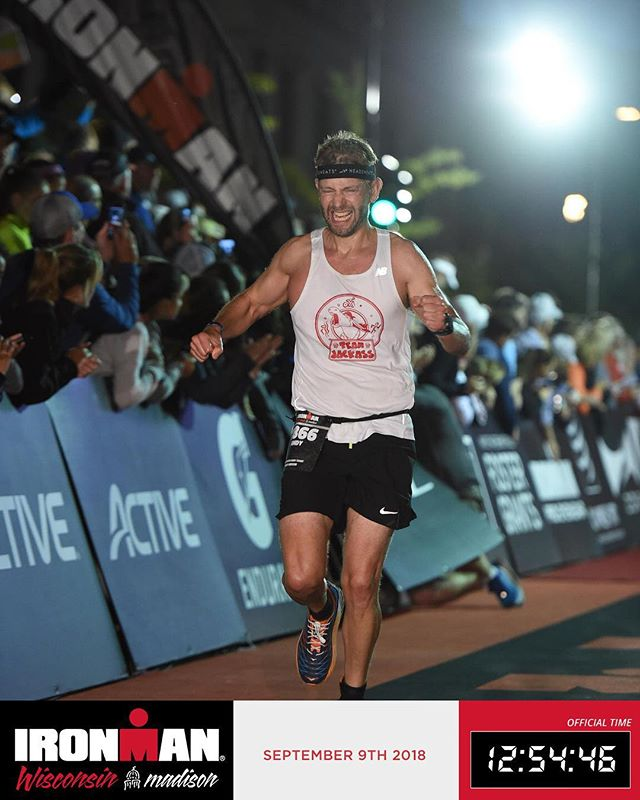 Congratulations to Ironman Andy Schwartz!  We are so proud of you, and thank you for raising over $7,000 for Brian's Fund!