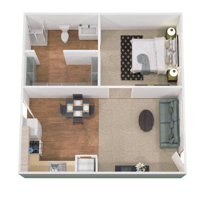Floor Plan Hef 600