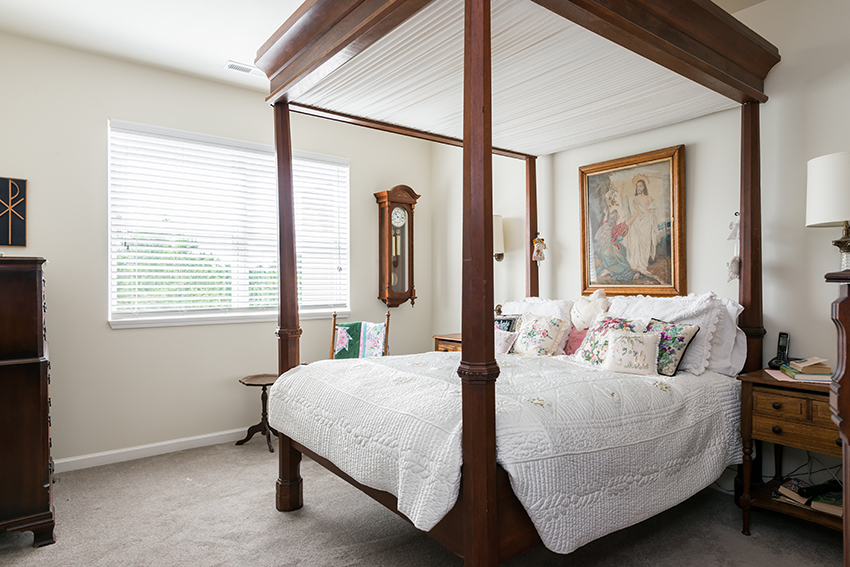 Spacious Bedroom The Mansions at Alpharetta 1