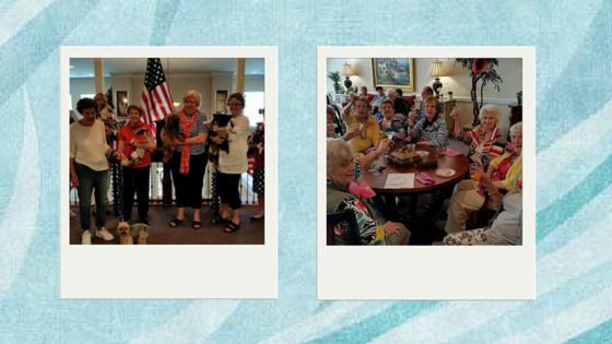 Parties at Sandy Springs Mansions
