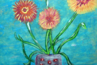 Arnold, Terry, Straw Flowers in a Vase