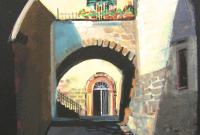 Bowden, Karen, Civita, Italy