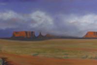 Red Landscape, Shirley Vuncannon