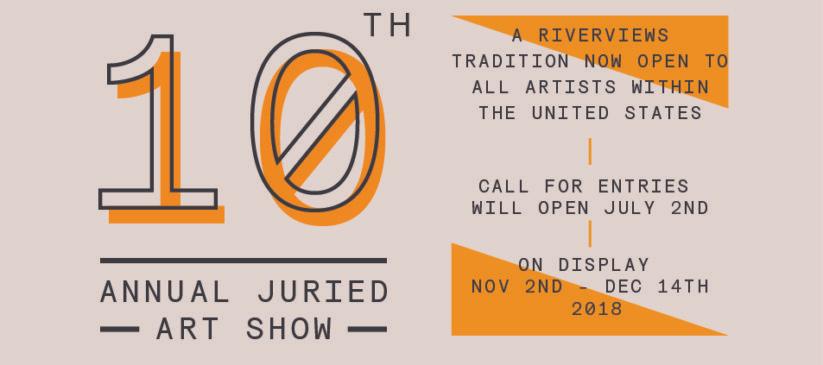 Riverviews – 10th Annual Juried Show
