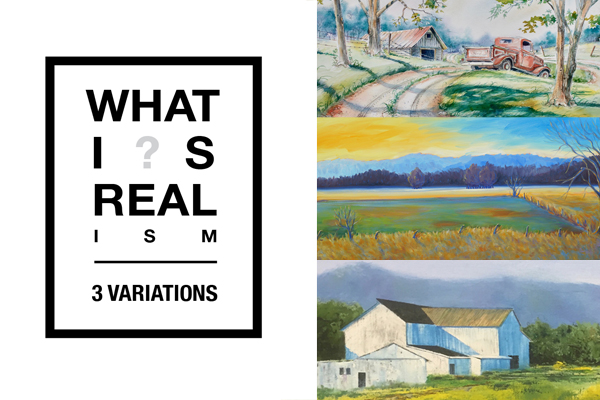 September – WHAT I ? S REAL I S M – 3 VARIATIONS