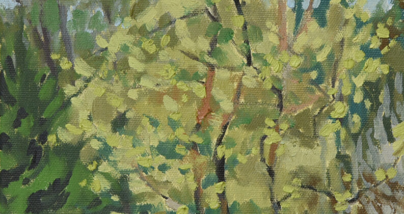 Spring 2020 – Plein Air Class at Morris Orchard