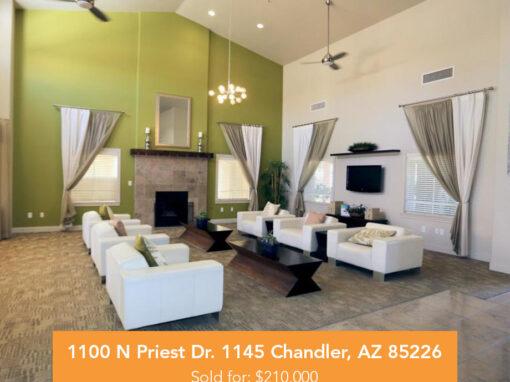 1100 N Priest Dr. 1145 Chandler, AZ 85226