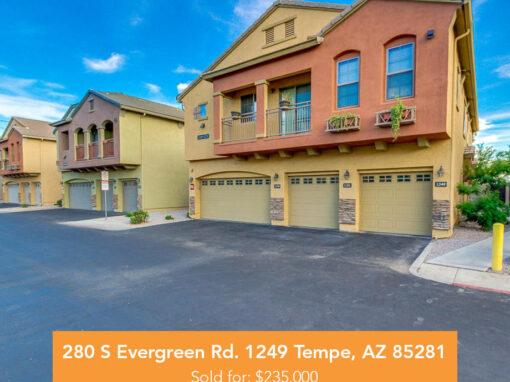 280 S Evergreen Rd. 1249 Tempe, AZ 85281
