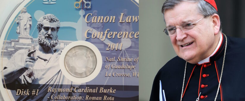 Cardinal Raymond Burke – Rota Judges Can be Wrong