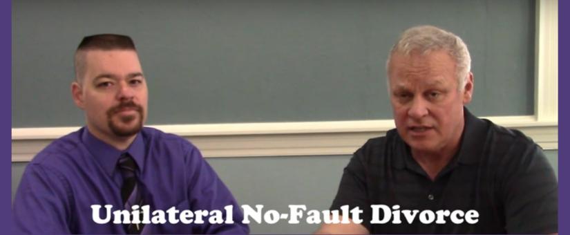 Pennsylvania Husband on Challenge to No-Fault Divorce