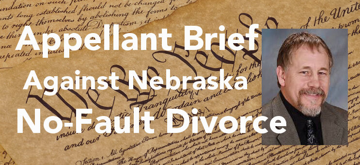 Appeal Argument Submitted: Challenge No-Fault in Nebraska