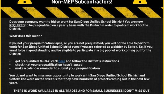 SDUSD prequal flyer
