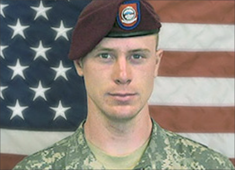 Photo of Sgt. Bowe Bergdahl is currently facing court-martial charges for desertion and misbehavior before the enemy. Bergdahl walked off his base in Afghanistan in 2009, and was held captive by Taliban allies for almost five years in Pakistan.