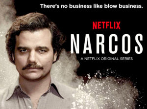 Narcos poster from Netflix