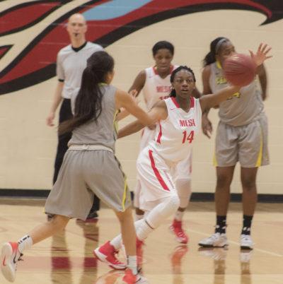 MCC basketball players
