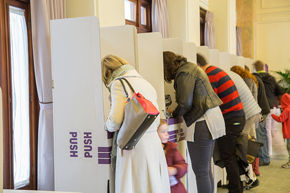 Student voting rate doubled in four years